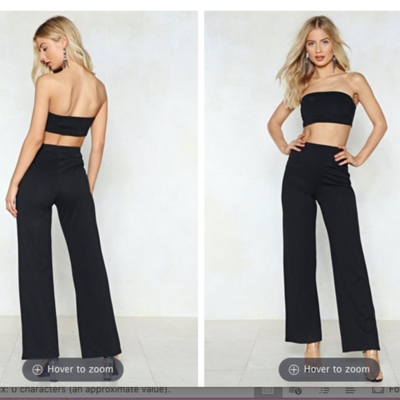 5e620c20233 Nasty Gal Dresses | Nwt Two Piece Coord Set | Poshmark